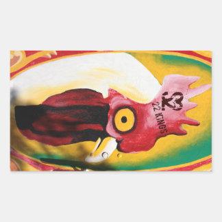 Chicken Hawk Sticker
