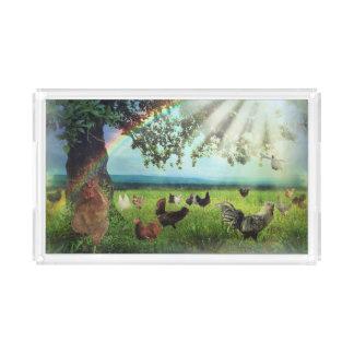 Chicken Heaven Acrylic Tray