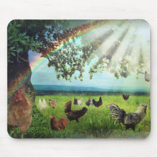 Chicken Heaven Mouse Pad
