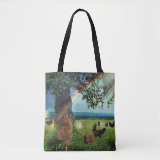 Chicken Heaven Tote Bag