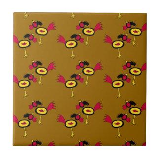 chicken hop ceramic tile