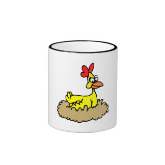 Chicken In Nest Mug