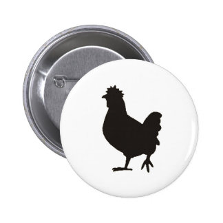 chicken is the new black pinback buttons