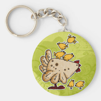 chicken keychain