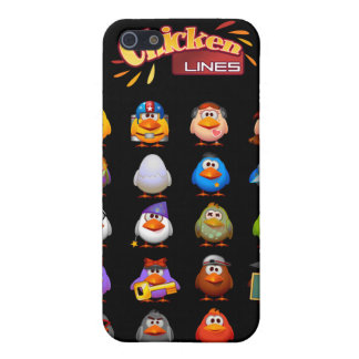 Chicken Lines iPhone 4G Speck Case iPhone 5 Cases