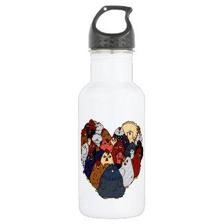 Chicken Love 532 Ml Water Bottle
