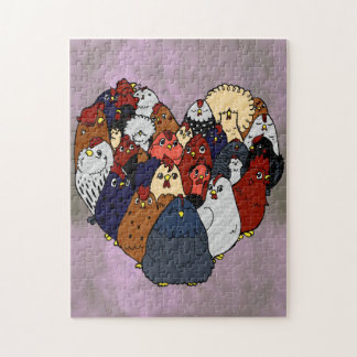 Chicken Love Jigsaw Puzzle