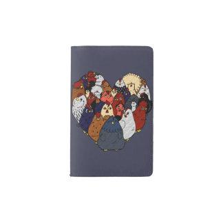 Chicken Love Pocket Moleskine Notebook
