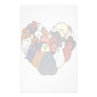 Chicken Love Stationery