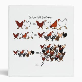 Chicken Math Binder