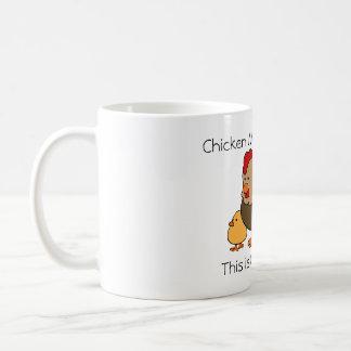 Chicken Math Explained Coffee Mug