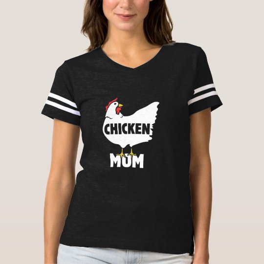 chicken mom t-shirt