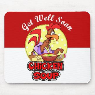 Chicken Noodle Soup Mouse Pad