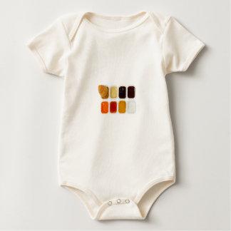 chicken nuggets baby bodysuit