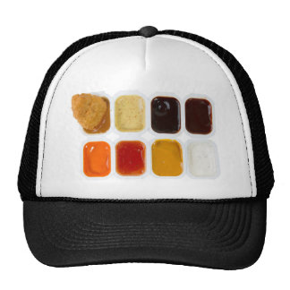 chicken nuggets mesh hat