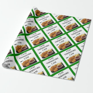 chicken nuggets wrapping paper
