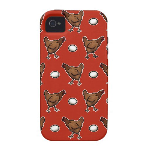 Chicken or the Egg? iPhone 4/4S Cases