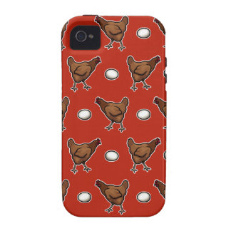 Chicken or the Egg iPhone 4/4S Cases