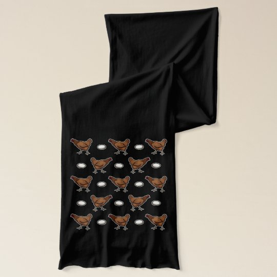 Chicken or the Egg? Scarf Wraps