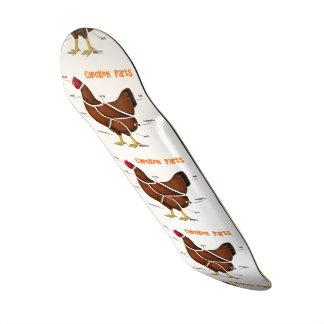 Chicken Parts Skate Deck