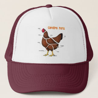 Chicken Parts Trucker Hat