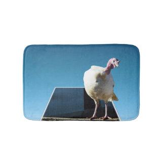 Chicken Photo Collage, Small Memory Foam Bath Mat. Bathroom Mat