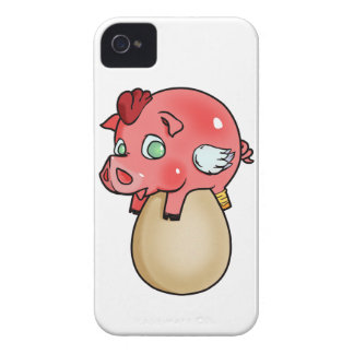 Chicken, Pig, Cheeken-Peeg! iPhone 4 Case-Mate Case