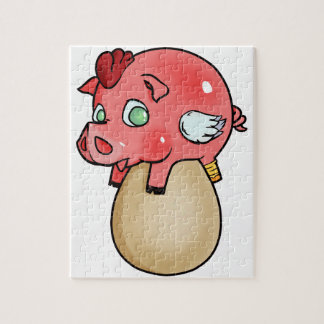 Chicken, Pig, Cheeken-Peeg! Jigsaw Puzzle