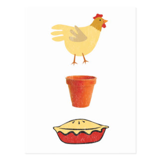 Chicken Pot Pie Postcard