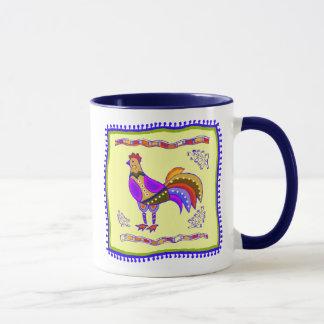 Chicken Quilt Mug