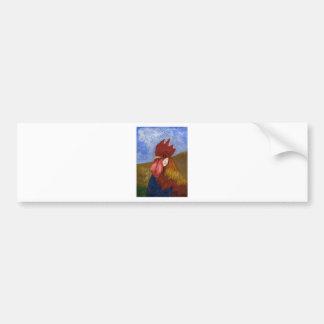 Chicken - Rooster Bumper Sticker