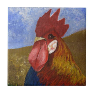 Chicken - Rooster Tile