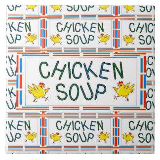 Chicken Soup Ceramic Tiles