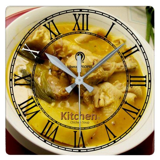 Chicken Soup Modern Designer#2 Clock Buy Online