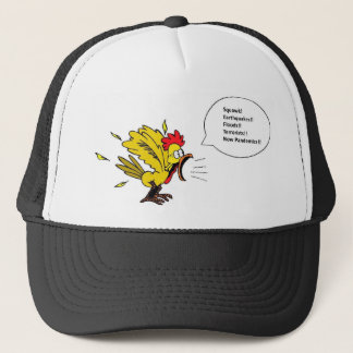 Chicken Speaks Hat