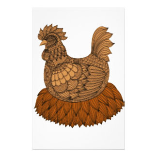 Chicken Stationery