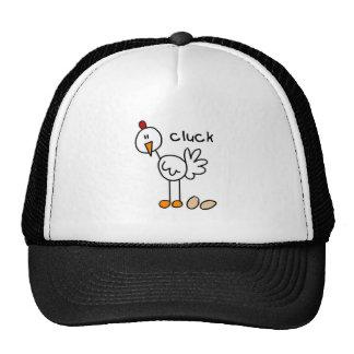 Chicken Stick Figure Hat