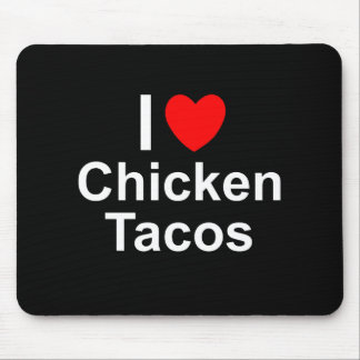 Chicken Tacos Mouse Pad