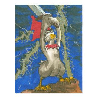 Chicken the Barbarian Postcard