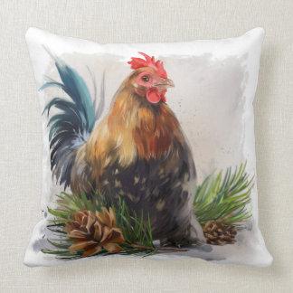 """""""Chicken"""" Throw Pillow"""
