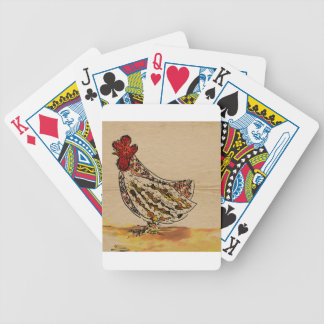 Chicken Vintage Bicycle Playing Cards