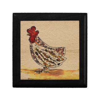 Chicken Vintage Gift Box