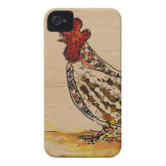 Chicken Vintage iPhone 4 Case