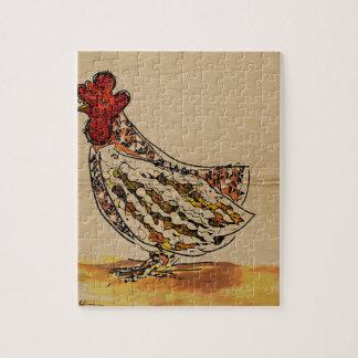 Chicken Vintage Puzzles