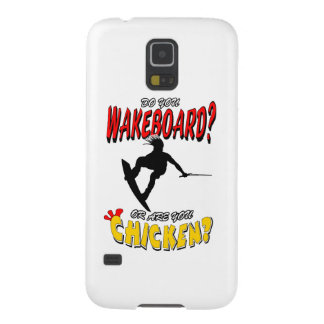 Chicken WAKEBOARD 1 (Black) Galaxy S5 Cover