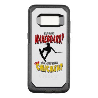 Chicken WAKEBOARD 1 (Black) OtterBox Commuter Samsung Galaxy S8 Case