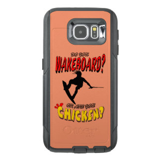 Chicken WAKEBOARD 1 (Black) OtterBox Samsung Galaxy S6 Case