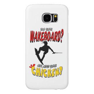 Chicken WAKEBOARD 1 (Black) Samsung Galaxy S6 Cases