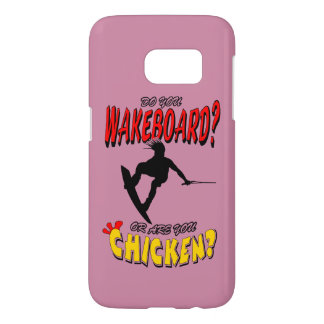 Chicken WAKEBOARD 1 (Black) Samsung Galaxy S7 Case