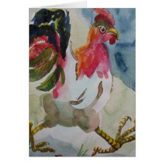 Chicken Walking Card